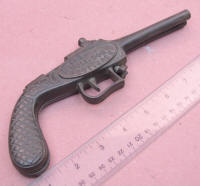 The Bull Dog Bootjack Figural Pistol