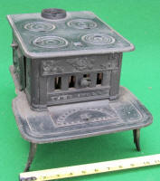THE DOLL Toy Cook Stove By Rikeman & Seymour / Peekskill NY