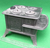 Early Cast Iron Miniature Stove