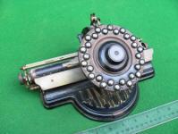 Antique Lambert Typewriter