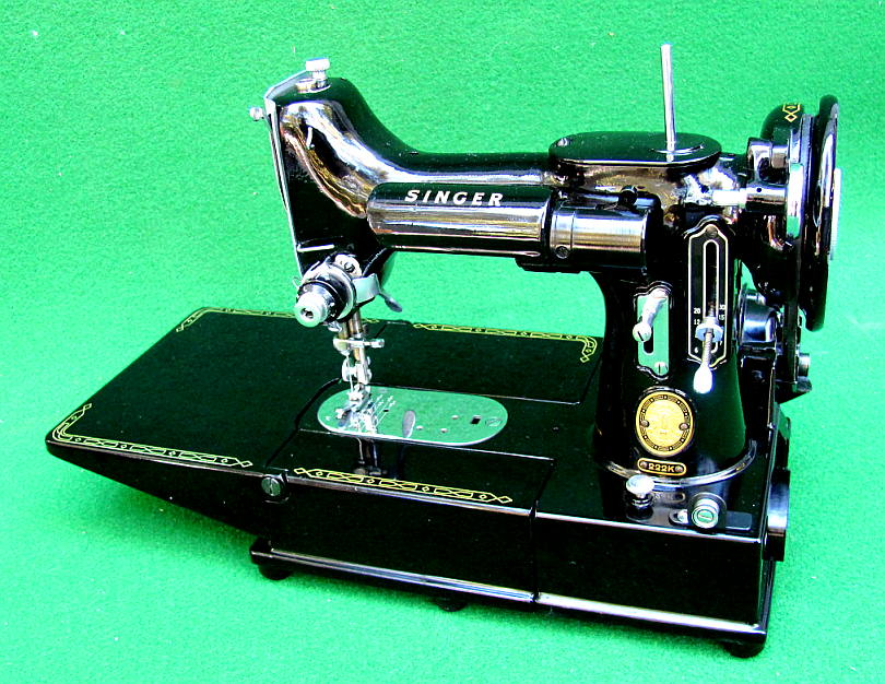 AntiqBuyer Singer Featherweight 40 40 Sewing Machine Past Adorable 1947 Singer Featherweight Sewing Machine