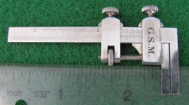 D. B. & S. / Darling Brown & Sharpe Miniature Presentation Caliper