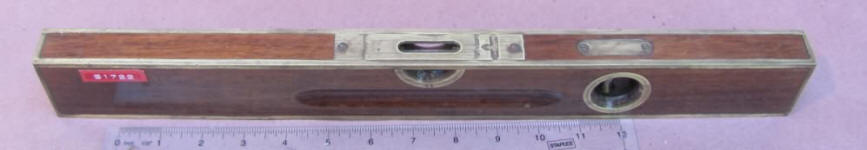 Stanley Sweetheart Era Brass Bound Level