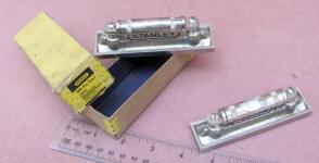 2 Stanley #44V Machinist� Levels