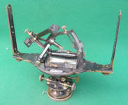 Gurley Solar Compass w/ Auxiliary Scope & Original Box