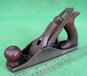 Antique Early Round Side Stanley # 603 Bed Rock Smooth Plane