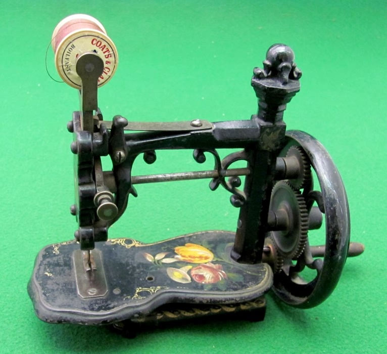 who patented the sewing machine
