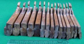 T J M'Master & Co. Auburn NY Wooden Hollow & Round Molding Planes
