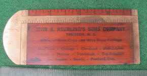 John Roebling Wire Rope Advertising Rule