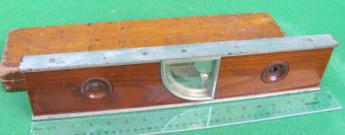 Niels Jensen Patented 1908 Plumb - Level Inclinometer Level