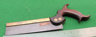 Moseley & Son  Brass Backed Spring Steel Backsaw