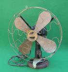Western Electric 16 Electric TankDesk Fan w/ Vane Oscillator