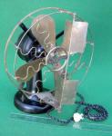 Westinghouse 12 Electric TankDesk Fan w/ Vane Oscillator