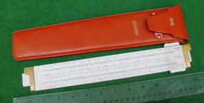 Keuffel & Esser / K & E 68 1400 ANALON Slide Rule w/ Leather Case
