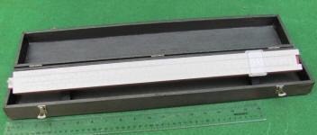 Keuffel & Esser / K & E 68 1749 (Old 4096) Merchants 20 Desk Top Slide Rule w/ Hard Case