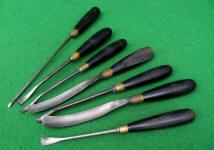 Ebony Handle Carving Tools
