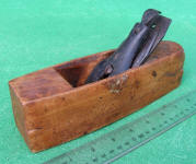 Leonard Bailey Smooth Plane w/ August 31 1858 Patent Lever Cap
