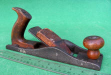 19th C. Low Angle Iron Smooth Plane