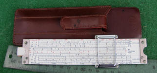Post Teledyne Versalog 44DA-610 Slide Rule