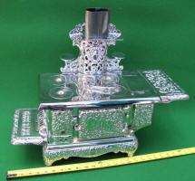 Globe Range Cast Iron Toy Cook Stove by Kenton