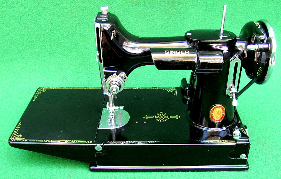 AntiqBuyer Singer Featherweight 40 40 Sewing Machine Past Awesome 1947 Singer Featherweight Sewing Machine