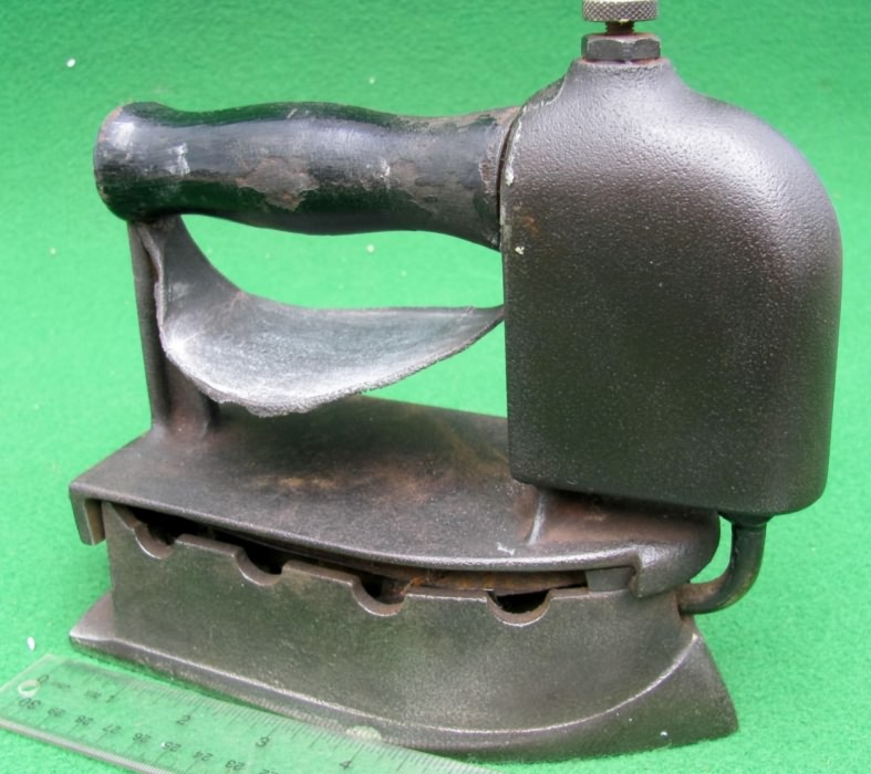 Antique Small Clothes Pressing Iron Original Old Hand Crafted