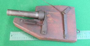 Economy Gopher Gun Trap Patented November 11th 1902