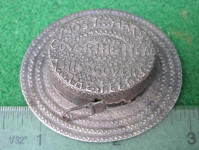 Figural Hat Sewing Tape Measure