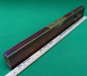 Stratton Brothers #1 Brass Bound 26 Mahogany Level