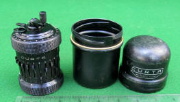 Type 2 Curta Calculator w/ Case