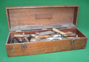 Antique Leather Working Tools