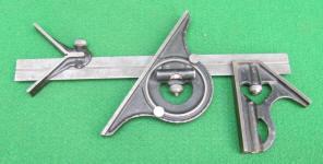 Goodell - Pratt 12 4 Piece Machinist Combination Square