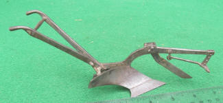 Model of Horse Drawn Plow