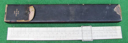 K & E Power Trig Slide Rule 4110 by Keuffel & Esser Co