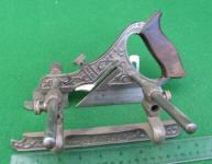 Stanley Millers Patent #141 Nickel Plated Plow Plane