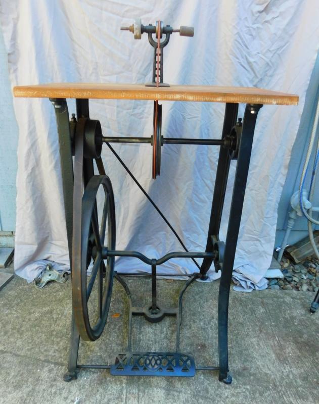 Terrific Antiqbuyer Com Antique Pedal Powered Tools Past Sales Machost Co Dining Chair Design Ideas Machostcouk