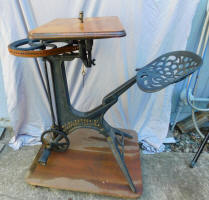 W. F. & John Barnes Foot Powered Velocipede Shaper / Former