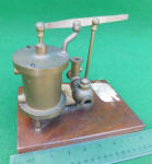 1869 Patent Model Boiler Feeder by T. B. Webster