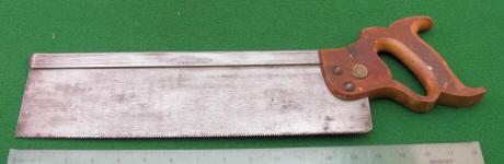 Jackson Cast Steel 14 Inch Backsaw
