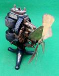 Thomas A. Edison 110 Volt DC Electric Fan Motor w/ 3 Speed Switch