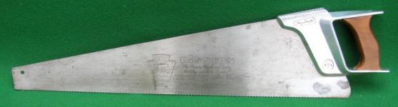 Henry Disston & Sons # D 100 26 10 pt.Crosscut Saw