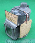 J. L. Rickard Patent Model of Miners / Mining Combination Dinner / Lunch Pail / Lantern / Warmer