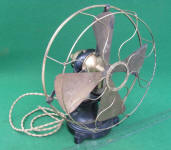 Western Electric 12 Bi-Polar / Open Frame Electric Fan