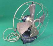 Western Electric 12 Bi-Polar / Open Frame Electric Fan
