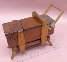1877 Patent Model of Washing Machine by George Buchanan of Washington PA