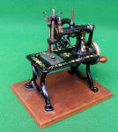 American Gem TSM / Toy Sewing Machine w/ Large Speed Enhancing Wheel