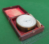 Keuffel & Esser / K & E  5 Compensated Aneroid Barometer w/ Thermometer