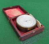 Keuffel & Esser / K & E  5 Compensated Aneroid Barometer w/ Thermometer