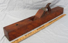 J. F. & G. M. Lindsey Huntington Mass Patented July 2nd 1878 Beech Jointer Plane