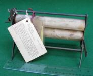 1865 Patent Model of Mangle